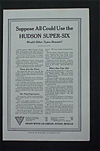 1917 Hudson Motor Car Company with Hudson Super Six (Image1)