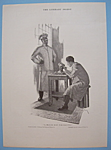 1914 Cream Of Wheat Cereal W/Man Sculpting (Image1)