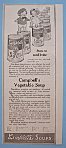 Vintage Ad: 1917 Campbell's Vegetable Soup (Image1)