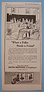 Vintage Ad: 1920 Smith Brothers Cough Drops (Image1)