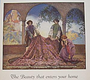 Vintage Ad: 1928 Mohawk Rugs & Carpets (Image1)