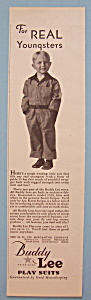 Vintage Ad: 1931 Buddy Lee Play Suits (Image1)