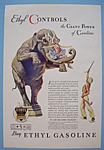 Vintage Ad: 1932 Ethyl Gasoline (Image1)