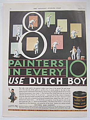1930 Dutch Boy Paint with Painters Using Dutch Boy (Image1)