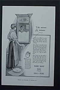 1917 Ivory Soap with Woman Cleaning a Mirror (Image1)