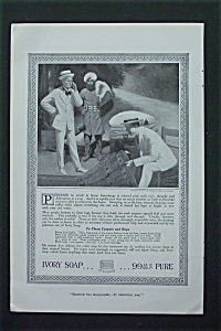 1917 Ivory Soap with Two Men Looking at Rug (Image1)