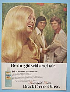 Vintage Ad: 1974 Breck Creme Rinse (Image1)