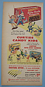 Vintage Ad: 1955 Curtiss Candy Kids
