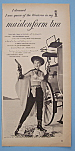 1955 Maidenform Bra with a Woman Cowboy (Image1)