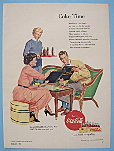 1954 Coca-cola (Coke) With Mother & Daughter's Friend
