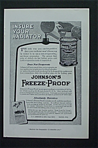 1917 Johnson's Freeze Proof w/ Can of Johnson's Freeze (Image1)