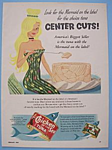 Vintage Ad: 1954 Chicken Of The Sea Tuna (Image1)