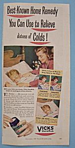 Vintage Ad: 1947 Vicks Vaporub (Image1)