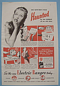 1938 National Electric Ranges w/Frightened Woman's Face (Image1)