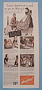 Vintage Ad: 1939 Maytag Washer (Image1)