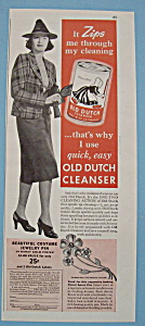 Vintage Ad: 1939 Old Dutch Cleanser (Image1)