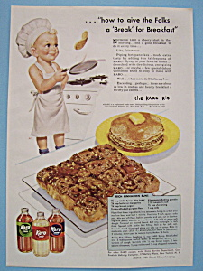 Vintage Ad: 1948 Karo Syrup With The Karo Kid