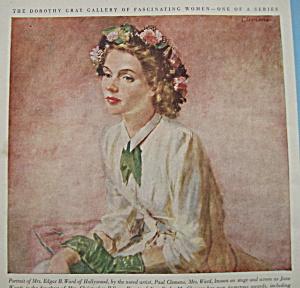 Vintage Ad: 1948 Dorothy Gray Elation Lipstick (Image1)