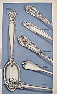 Vintage Ad: 1951 Wallace Sterling Silver (Image1)