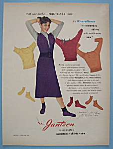 1951 Jantzen Sweaters, Skirts & Sox with Woman (Image1)