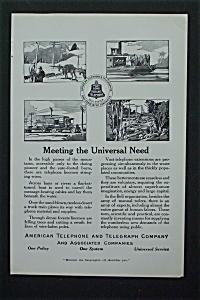 1917 American Telephone & Telegraph Co w/Communication (Image1)