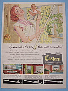 1955 Eastern Curtain & Drapery Hardware w/Man & Woman (Image1)
