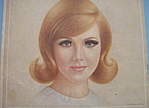 1966 Breck Shampoo with Lovely Red Haired Woman (Image1)