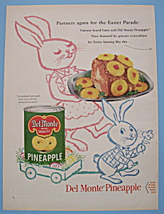 Vintage Ad: 1955 Del Monte Pineapple