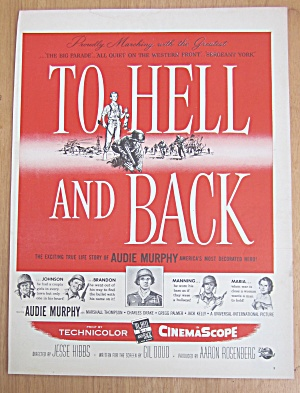 1955 To Hell And Back With Audie Murphy