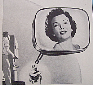 Vintage Ad: 1955 RCA Picture Tube w/Nanette Fabray (Image1)