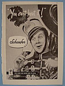 Vintage Ad: 1946 Schaefer (Image1)