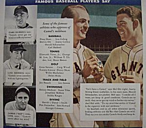 1935 Camel Cigarettes w/ Lou Gehrig (Image1)