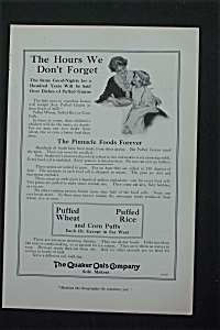 1917 Quaker Oats Company with Mother & Child  (Image1)