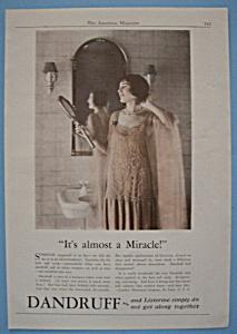 Vintage Ad: 1926 Listerine (Image1)