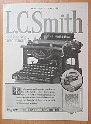 1923 L. C. Smith & Brothers Typewriter with Typewriter (Image1)