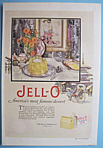 Vintage Ad: 1926 Jell - O