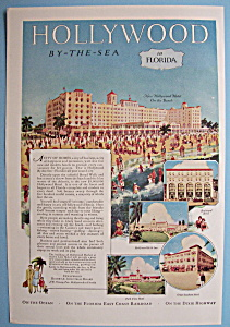 Vintage Ad: 1926 Hollywood By The Sea In Florida (Image1)