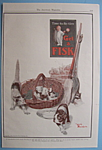 Vintage Ad: 1926 Fisk Tire Company (Image1)