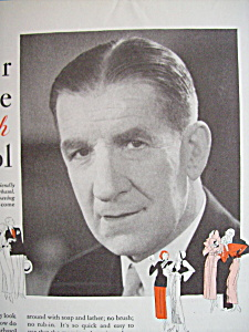 Vintage Ad: 1926 Barbasol with James J. Corbett (Image1)