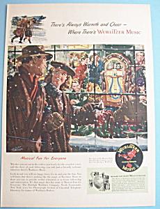 Vintage Ad: 1947 Wurlitzer Music Phonograph (Image1)