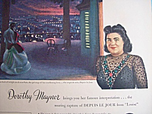 Vintage Ad: 1945 RCA Victor Records w/ Dorothy Maynor (Image1)