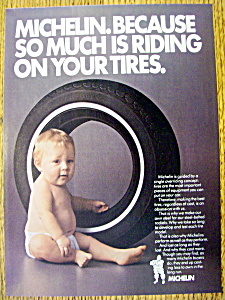 Vintage Ad: 1985 Michelin Tires (Image1)