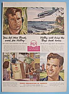 Vintage Ad: 1944 RCA Radio & Phonograph (Image1)