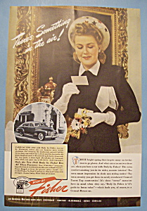 Vintage Ad: 1941 Body By Fisher (Image1)