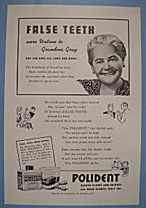 Vintage Ad: 1942 Polident (Image1)