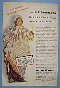 1942 General Electric Automatic Blanket w/Woman (Image1)