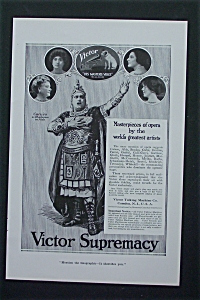 1917 Victor Supremacy with Caruso, Homer, Melba & More (Image1)