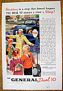Vintage Ad: 1937 General Dual 10 Tires (Image1)