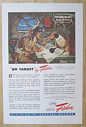 1944 Body By Fisher By Dean Cornwell (On Target) (Image1)