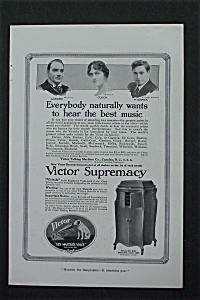 1917 Victor Supremacy with Caruso, Gluck & McCormack (Image1)